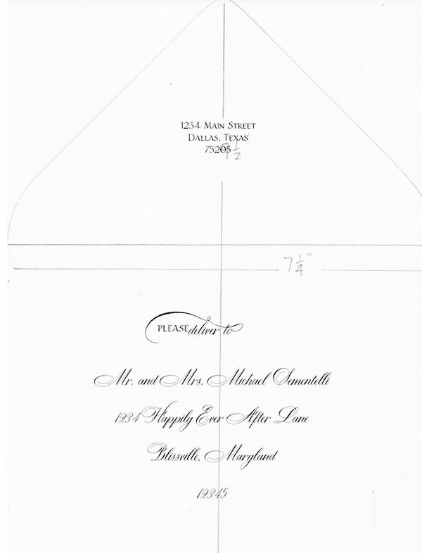 Post image for DIY Tutorial: How to address envelopes with a Calligraphy font in Word