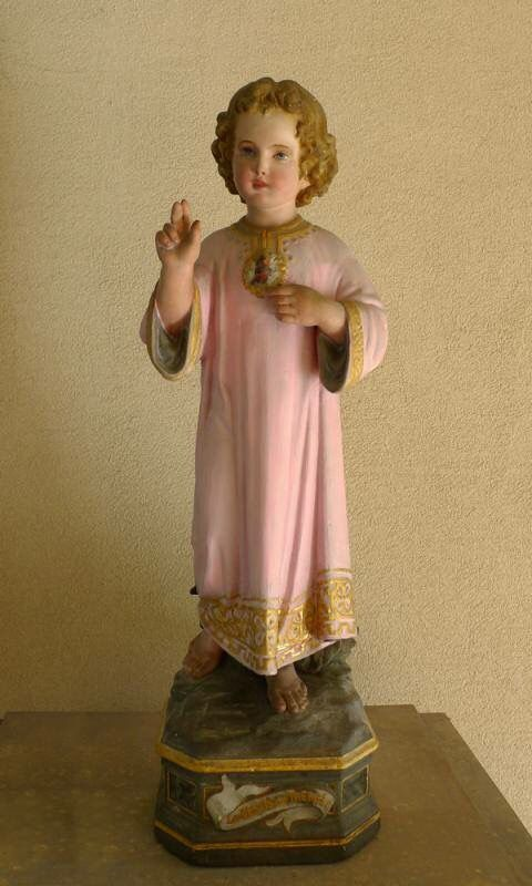 Therese's special statue : the Child Jesus in the Lisieux Carmel