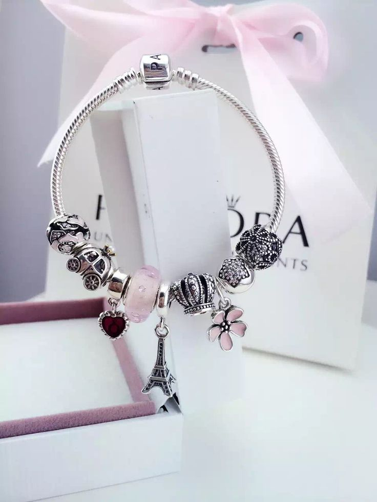 50% OFF!!! $239 Pandora Charm Bracelet. Hot Sale!!! SKU: CB01086 - PANDORA Bracelet Ideas