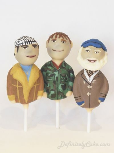 Only Fools and Horses Cake Pops