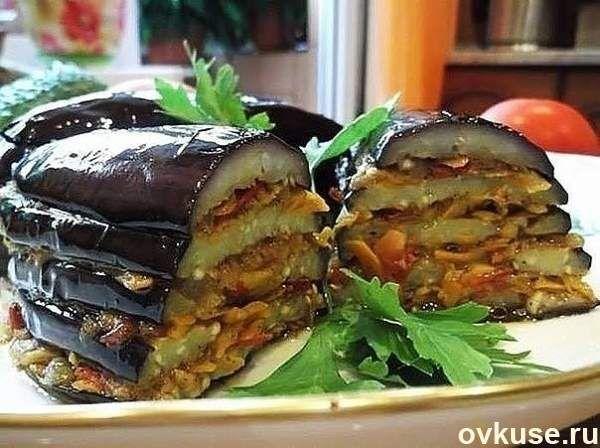 Самые популярные рецепты из баклажанов - Простые рецепты Овкусе.ру
