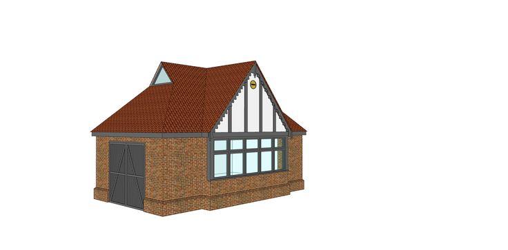Garage proposal C - Ketteringham, Norfolk -  Image l