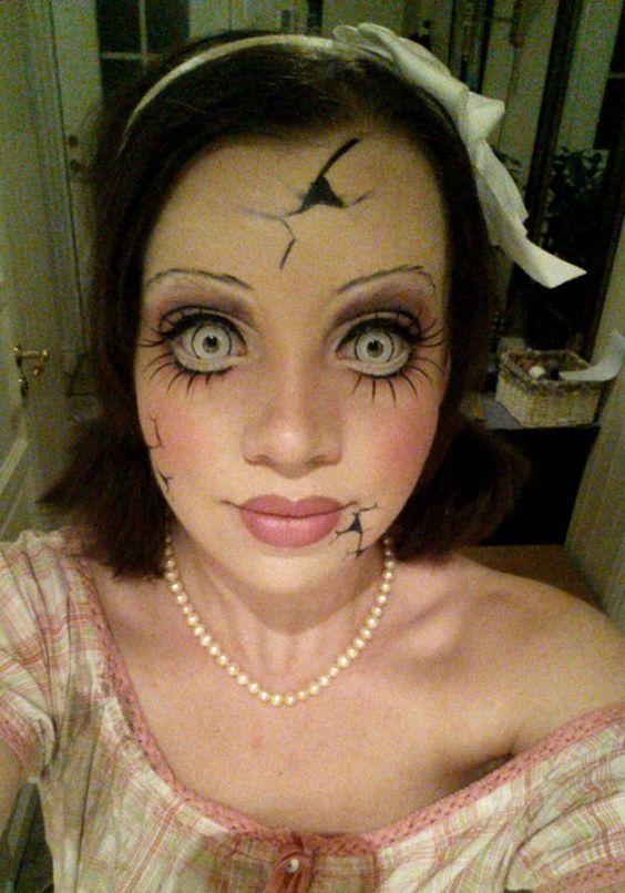 Resultado de imagen de disfraz muñeca halloween