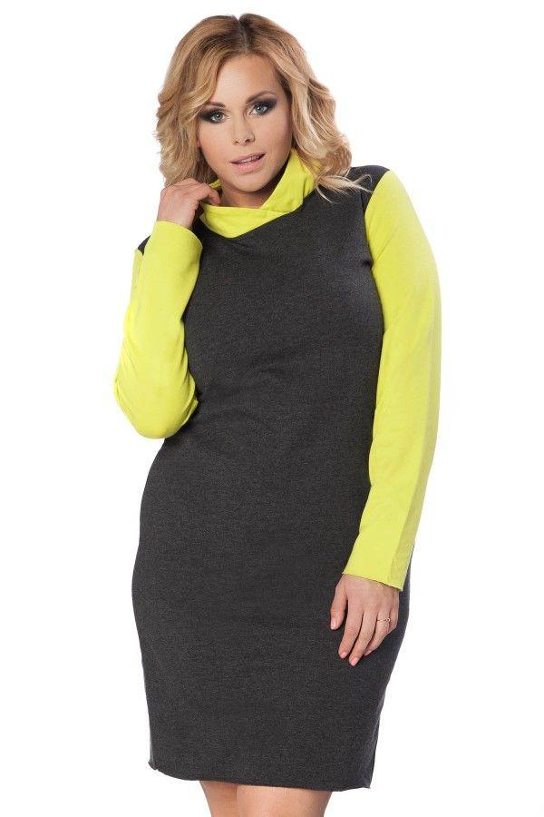 Sukienka Paula Size Plus