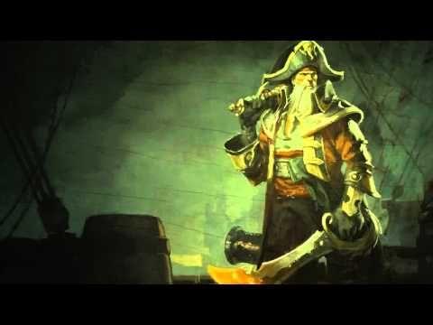 Bilgewater (Gangplank) League Of Legends Login Screen With Music - YouTube