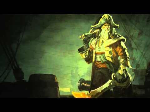 Bilgewater (Gangplank) League Of Legends Login Screen With Music - YouTube