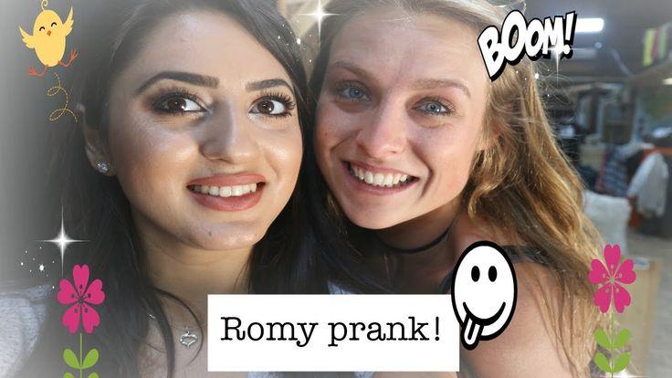 Madilia vlog | #2 | Romy make-up prank!! | - UTOPIA (NL) 2017