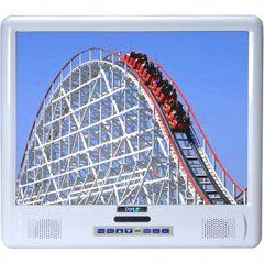 PYLE PLMRVW155 15-Inch TFT LCD Splash Proof Monitor with TV Tuner by Pyle. $290.82. 15-Inch Active Matrix High Resolution TFT-LCD Monitor Multi-System Video: NTSC / PAL / SECAM Resolution: 1024(H) x 768 (V) ightness: 350 CD/SQ.M Contrast: 500 Viewing Angle: 70°/70°/70°/70° Wireless Remote Control Included Operating Temperature: 0˚C~60˚ C Power Consumption:20W (MAX) Power Input : +12V DC Dual RCA Audio / Video Inputs Built-in Infrared Transmitter For IR Wire...