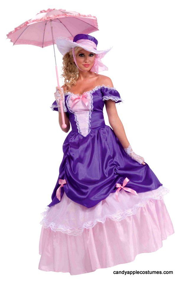 Adult Blossom Southern Belle Costume - Candy Apple Costumes - Browse All Women's Costumes