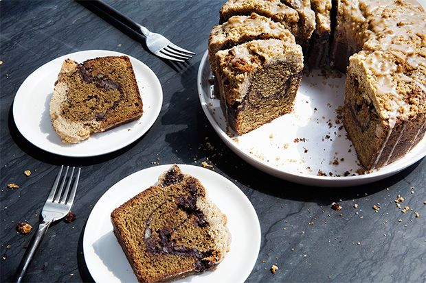 Find the recipe for Coffee Coffee Coffee Cake and other coffee recipes at Epicurious.com