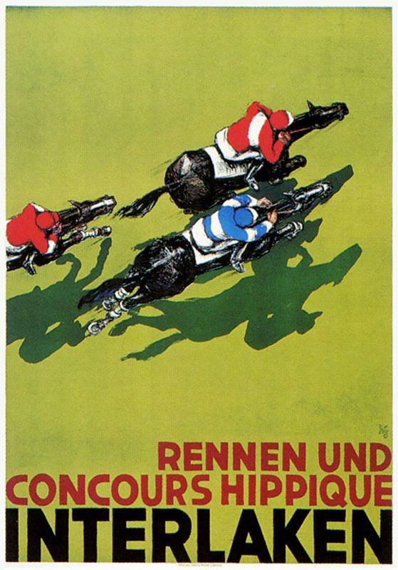 Alex W. Diggelmann, Rennen und Concours hippique Interlaken, 1940
