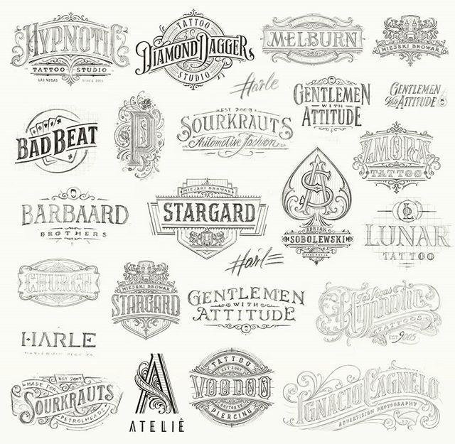 Mateusz Witczak Mateuszwitczakdesigns On Instagram To Do List Graphicdesign Typography Letterin Vintage Logo Design Letter Logo Inspiration Paper Logo