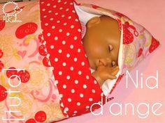 nid d'ange pour poupée ou pour bébé [tuto]