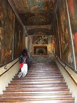 Scala Santa - Holy Stairs - Campli nel Teramo, Abruzzo: The Holy Stairs of Campli is a Catholic place of worship, built in the second half of the eighteenth century, in the little town of Abruzzo. The factory stands leaning against a longitudinal side of the Church of St. Paul, within the urban fabric of the country, in the province of Teramo, in the territory between the valleys of the rivers Fiumicino and Siccagno.  According to the Christian religion, you can get the forgiveness and…