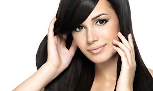 Groupon - $ 87 for $300 Worth of Keratin Straightening Treatment— Homa at Mondi Salon  in Orlando. Groupon deal price: $87