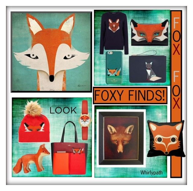 Foxy Finds! by whirlypath on Polyvore featuring Sugarhill Boutique, Kate Spade and Tod's