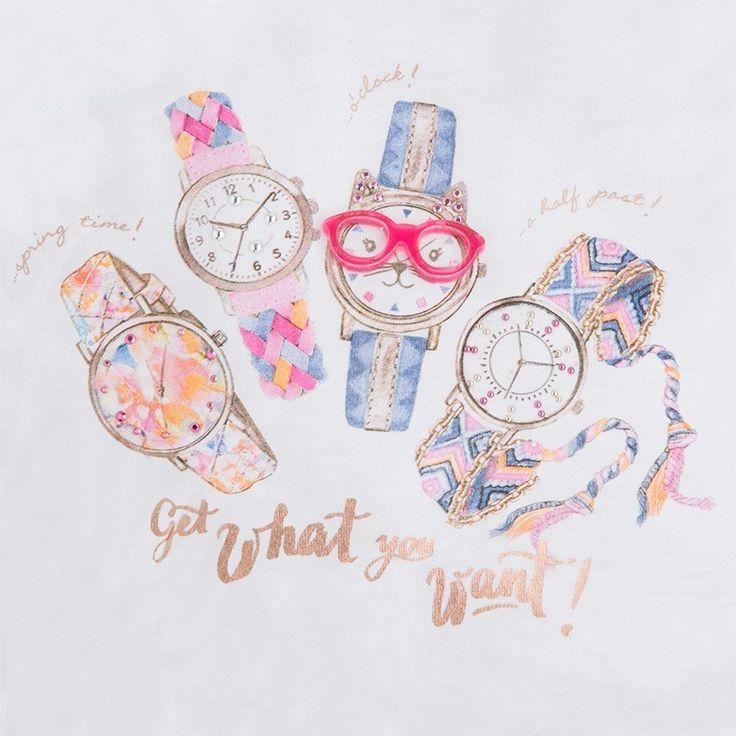 Mayoral sklep internetowy, produkt Mayoral 3083-19 Koszulka na ramiącz. zegary kolor Fleming