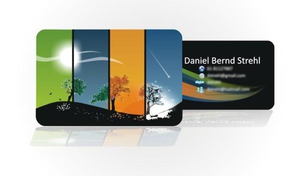 Cartão de visitas para profissional de Tecnologia da Informação - DF.