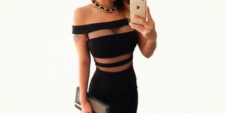 Vestidos negros tan despampanantes que vas a querer usarlos en tu boda