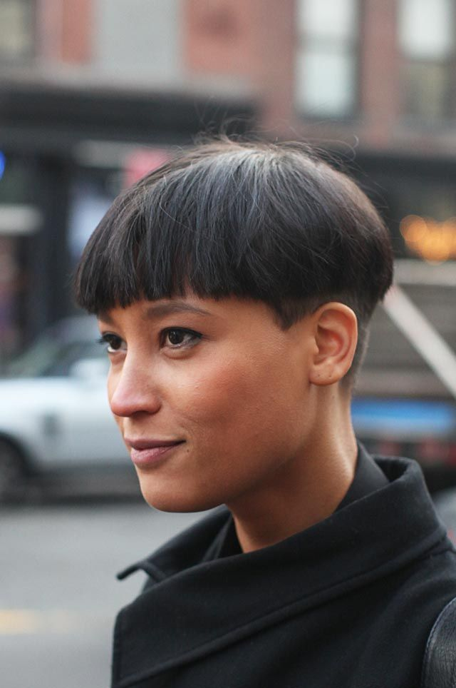 Icona Pop, this one has a sweet bowl cut