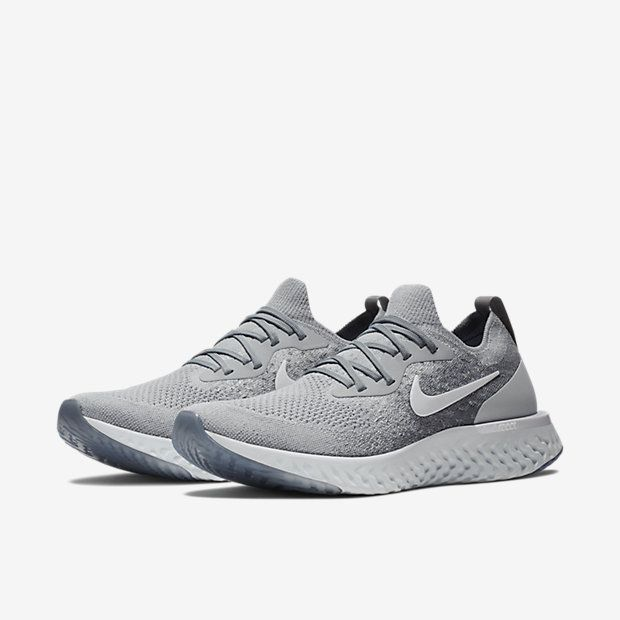 Nike Epic React Flyknit Wolf Grey
