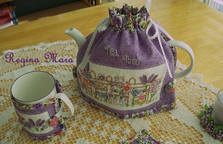 Tea Time - Tea Cozy and Tea Mug