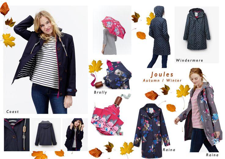 Joules, Joules coats, Jackets, Autumn winter 2015, Raincoats,