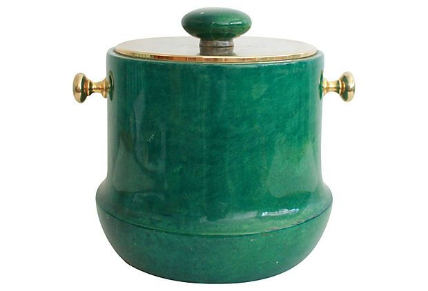 Midcentury   Ice  Bucket on OneKingsLane.com