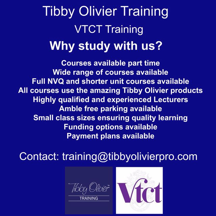 "We are so proud to announce ""Tibby Olivier are a VTCT approved training centre, offering a wide range of beauty and teaching qualifications!  contact - Training@tibbyolivierpro.com for course details"