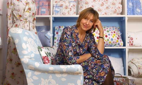 Queen of florals Cath Kidston bucks the recession to profit from love of nostalgia | Life and style | The Guardian
