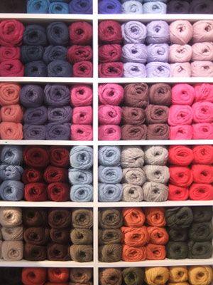 lanas 100% naturales