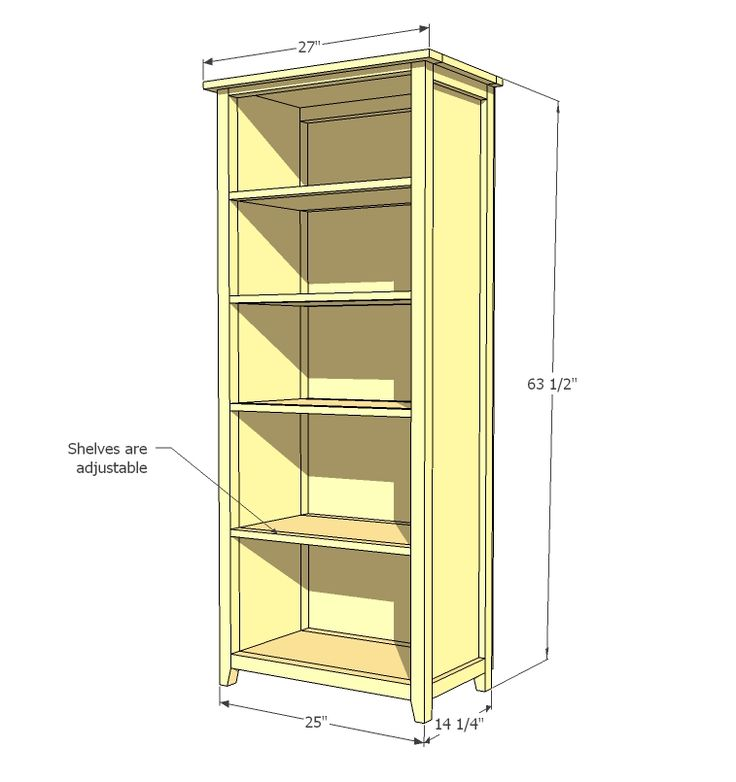 Ana White | Build a Channing Bookcase | Free and Easy DIY Project and Furniture Plans