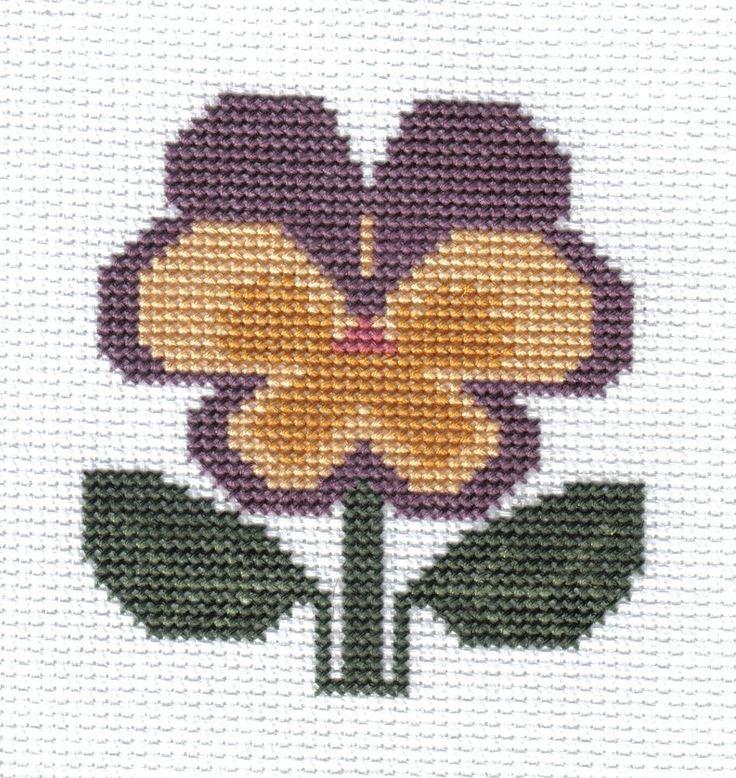 BOOK 55 Garden Blooms - PANSY PRAIRIE SCHOOLER