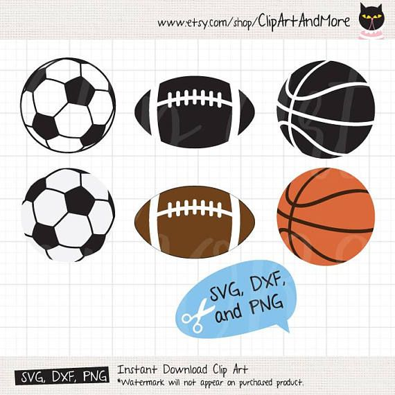 Football Soccer Ball Basketball Svg Files For Cricut Or Etsy Soccer Ball Football Soccer Soccer