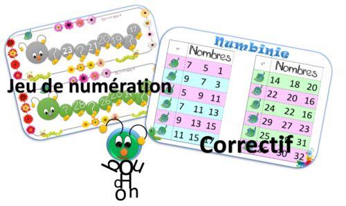 Et voici les jeux qui découlent des affiches sur les nombres en fleurs… A voir dans la rubrique : tous les affichages ➡ Deux jeux ? C'est le même que vous pouvez utiliser soit sous forme de