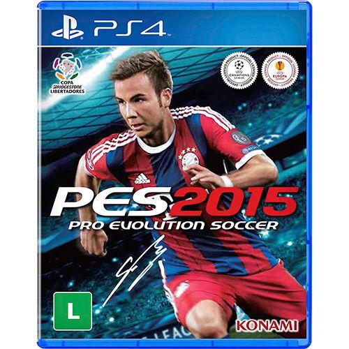 [Submarino - UZ Games] PES 2015 para PS4 - R$ 9,90 + frete