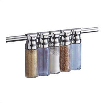 Σετ δοχεία μπαχαρικών από μέταλλο Κωδ: 60060973 5,95 €