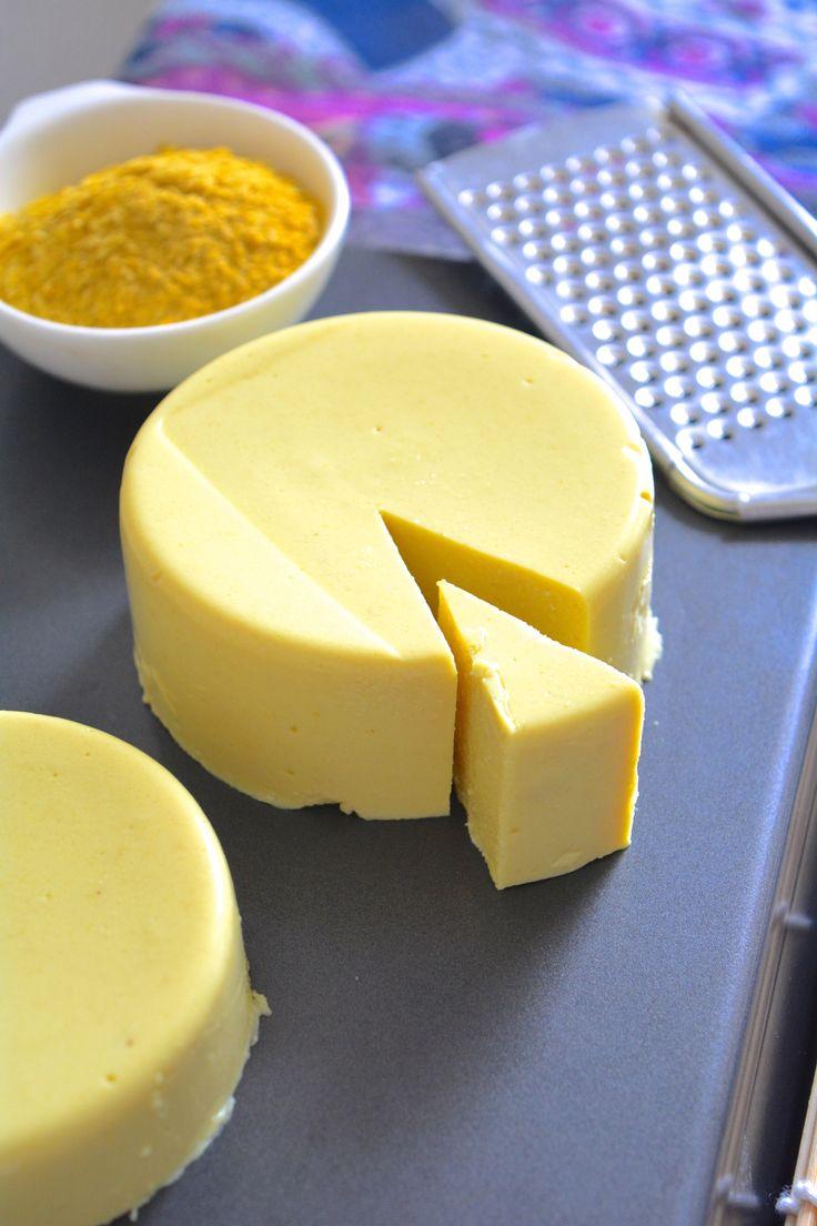 Sliceable Vegan Cashew Cheese