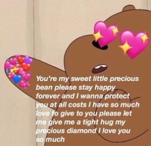 Pin By Hi On Meme Drawer Cute Love Memes Love You Meme Crush Memes