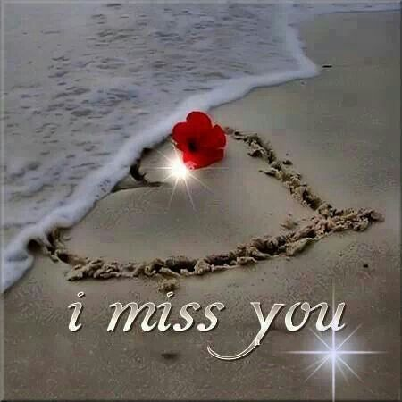 I miss your presence in my empty life :(