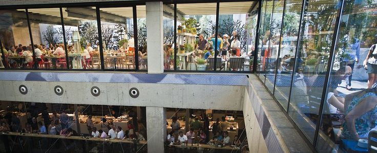 Restaurants in Mercado San Anton