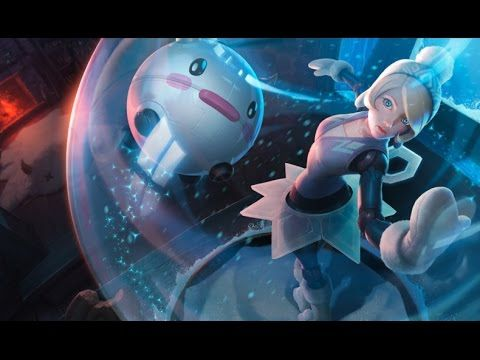 Winter Wonder Orianna (Snowdown Showdown 2014) League Of Legends Login Screen With Music - YouTube