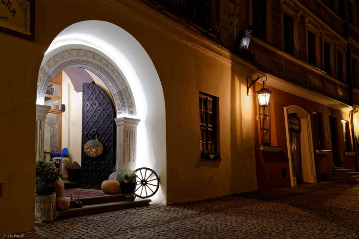 Lublin nocą - Mandragora