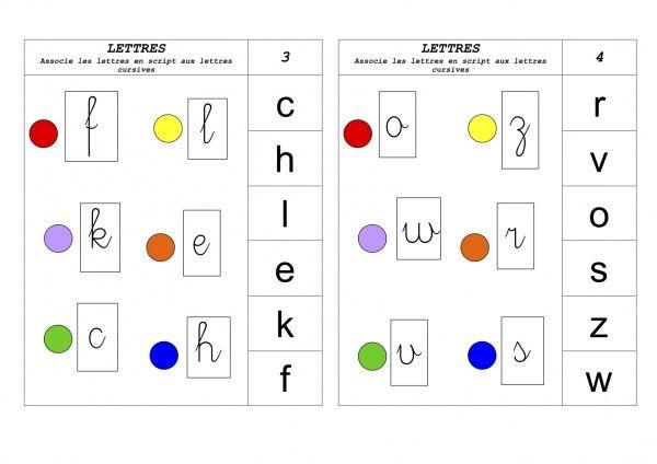 Reconnaissance de lettres (différentes graphies)