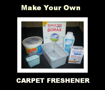 Make Your Own Carpet Freshener--Easy and Cheap