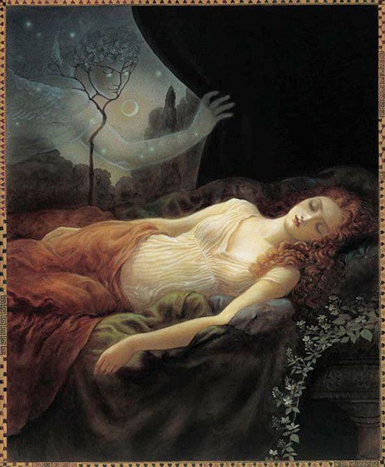 Psyche Sleeping