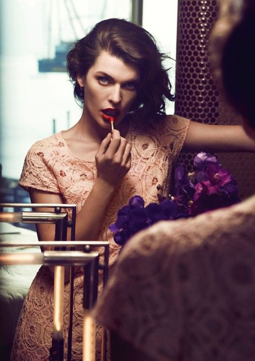 Milla Jovovich Stars in Sisley's Spring 2013 Campaign by Sean & Seng | Fashion Gone Rogue: The Latest in Editorials and Campaigns