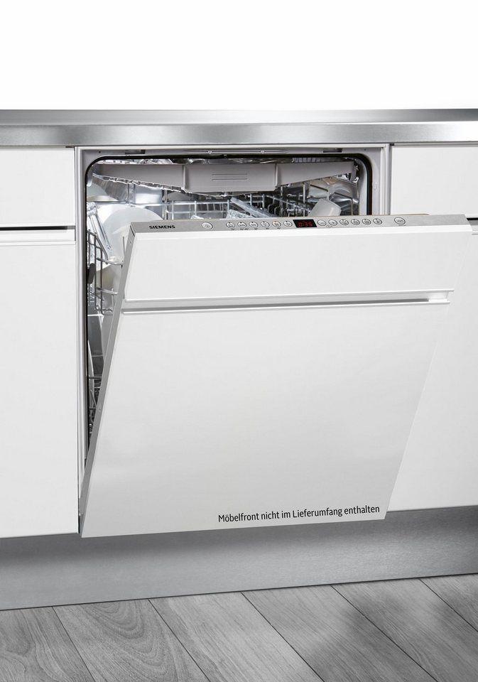 SIEMENS Vollintegrierbarer Einbaugeschirrspüler SN66L070EU, A++, 7,5 Liter, 13 Maßgedecke für 399,00€. Energieeffizienzklasse A++ bei OTTO