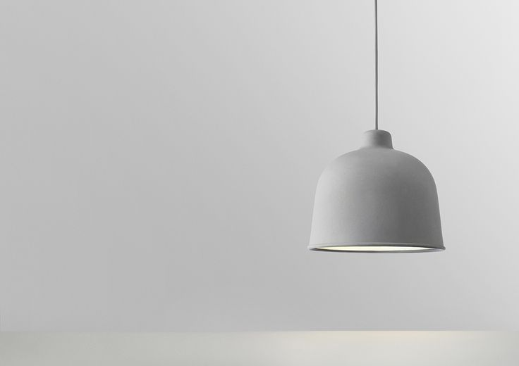 Grain pendant with LED bulb. Ceiling lamp, loft lampe, pendel