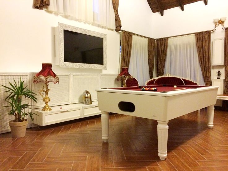 Living room with pool table - Princess of Transylvania